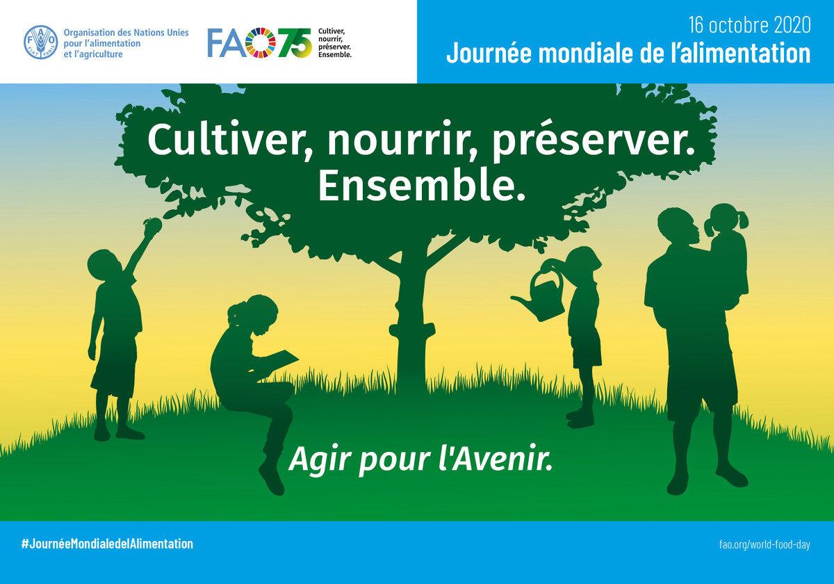 Poster-Journée mondiale de l'alimentation